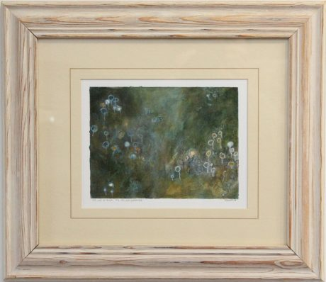 framed painting by R. Sawan White
